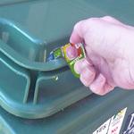 Covid Key - Open Rubbish Bins