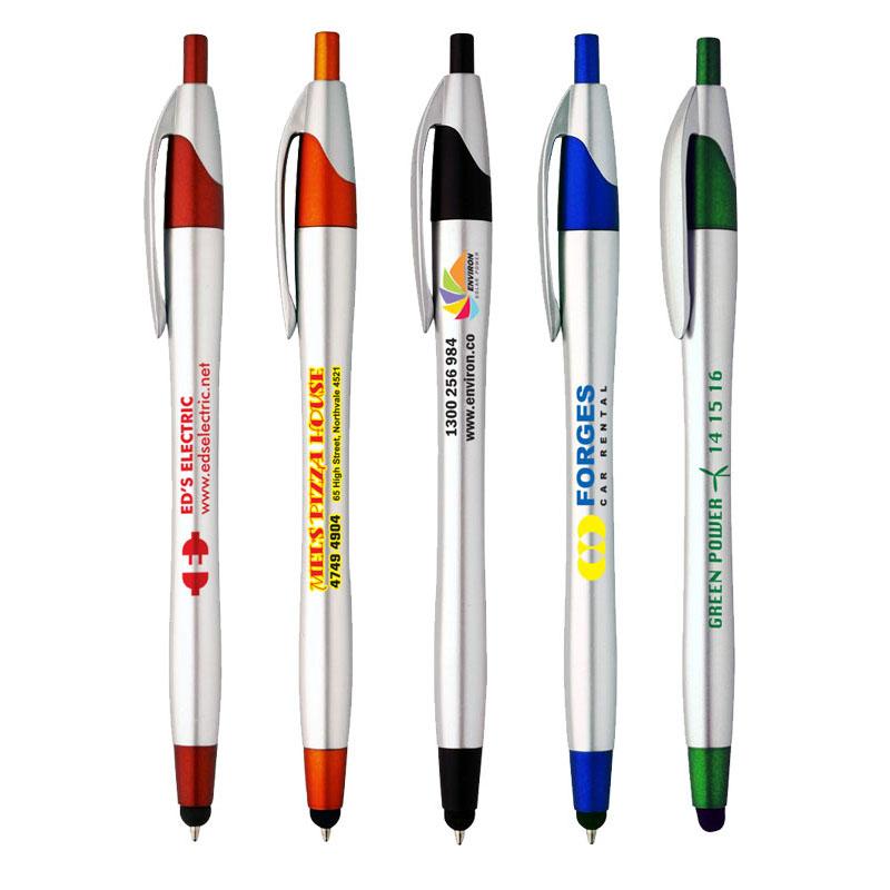 Slimline Stylus Plastic Pen | WP216