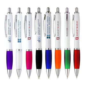 Allegra White Plastic Pen | WPP08