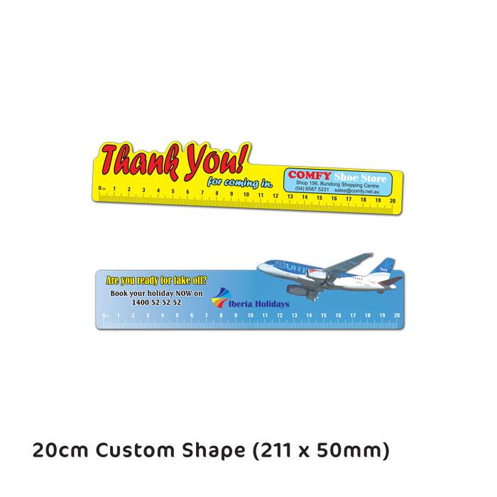 20cm Custom Ruler