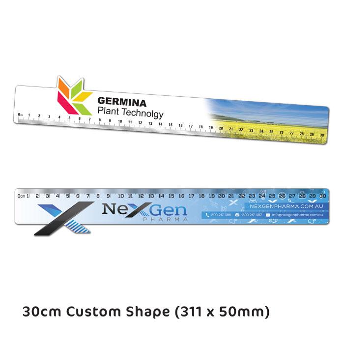 30cm Custom Ruler